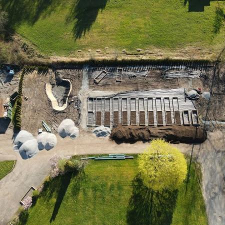 BVS Farm Plot Construction March April 2021 update
